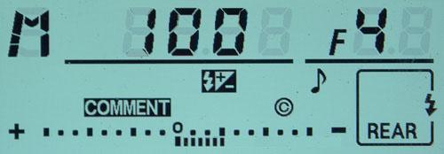 Display Nikon minus 1LW
