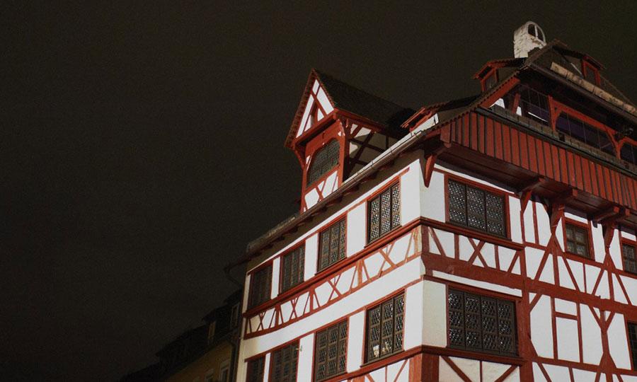 Bildrauschen Duererhaus Detail