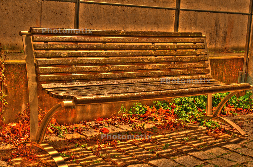 Bank-HDR Fotografie, ©Rainer Dill